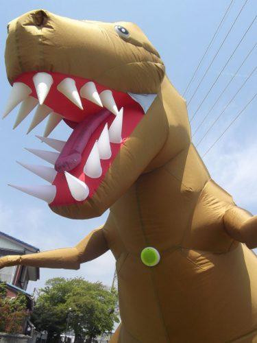恐竜シューティングゲーム