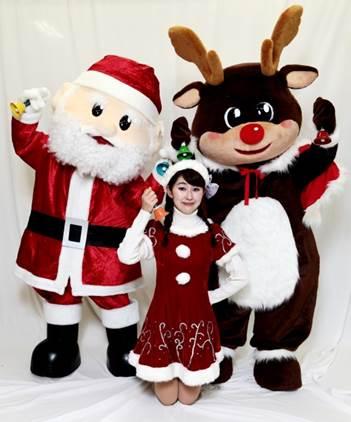 サンタさんとトナカイくんの愉快なハンドベルコンサート