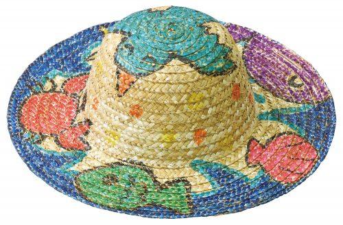 オリジナルの麦わら帽子をつくろう!